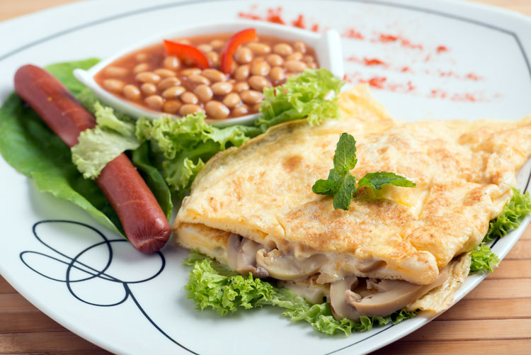 Makan Place Cheese Omelette Midium Calorie 384