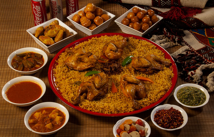 Chicken Kabsa sadia for 5 persons