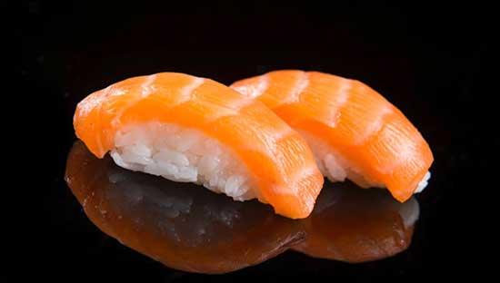 Makan Place Nigiri Sushi Shake Salmon