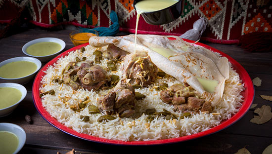 Makan place - Mansaf (Arabic Meat) 6 Persons