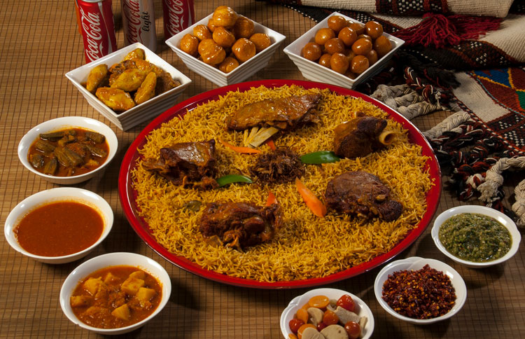 Kabsa meat for 5 persons